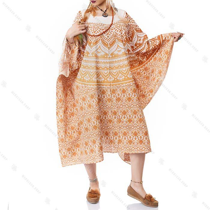 پانچو هیپی استایل زنانه – Hippie Style Poncho