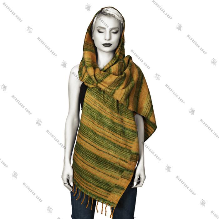 شال پشمی زنانه سبک کد 6013