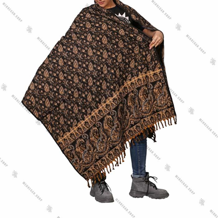 شال رودوشی و رویه لباس کد 7003