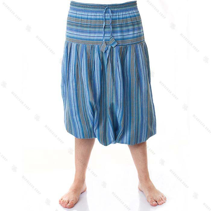 شلوار سنتی ( سنبادی ) آبی آسمانی – Sky Blue Kurta Trousers