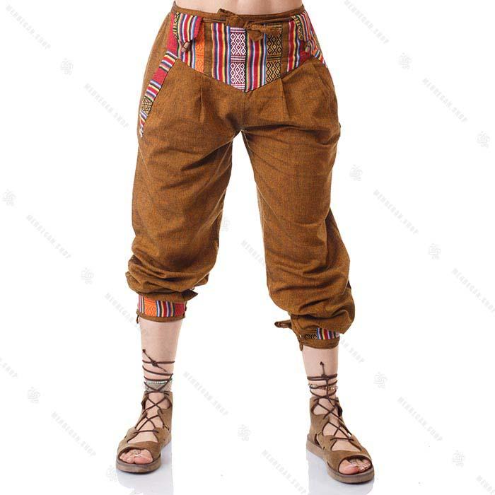 شلوار سنتی گلیمی طلایی – Gold Kilim Trouser