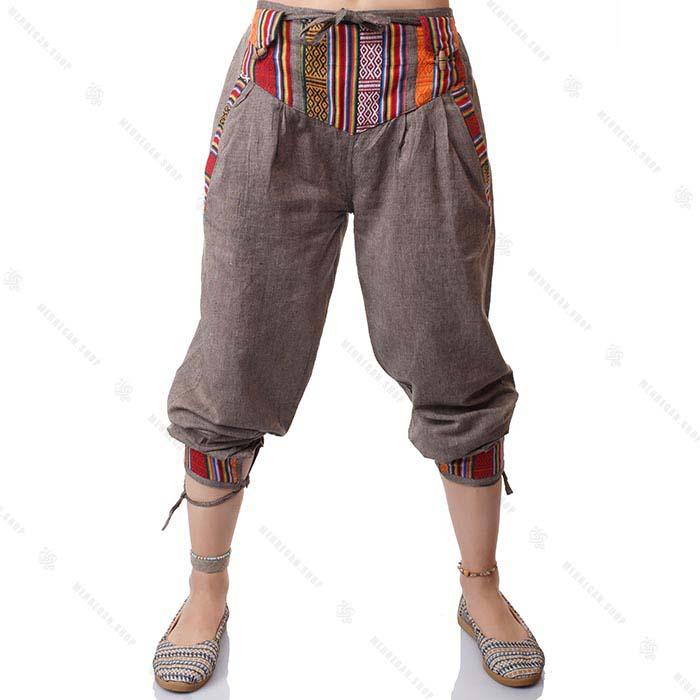 شلوار سنتی گلیمی نسکافه ای – Nescafe Kilim Trouser