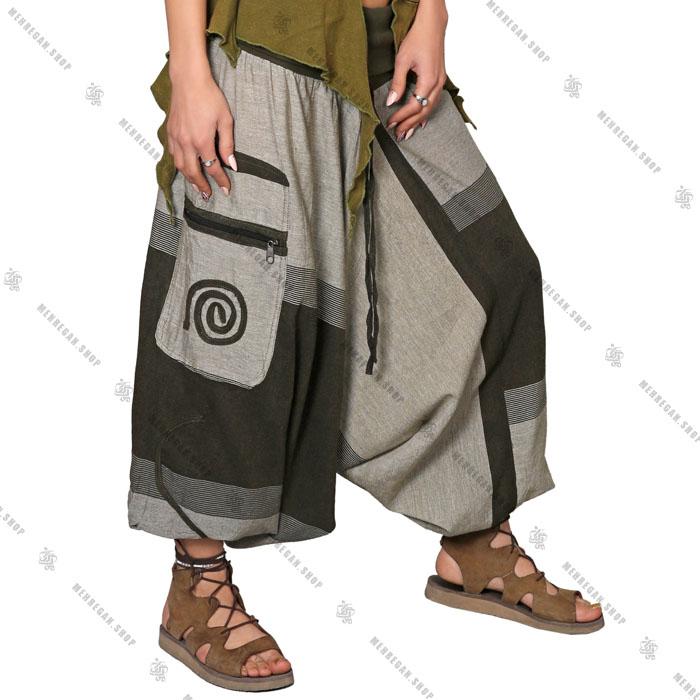 شلوار نپالی جیب دار سبک و خنک