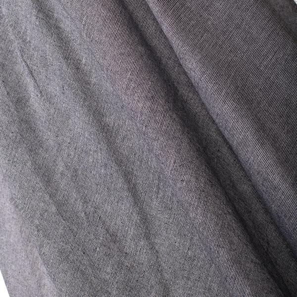 دامن شیطونی خاکستری کتان