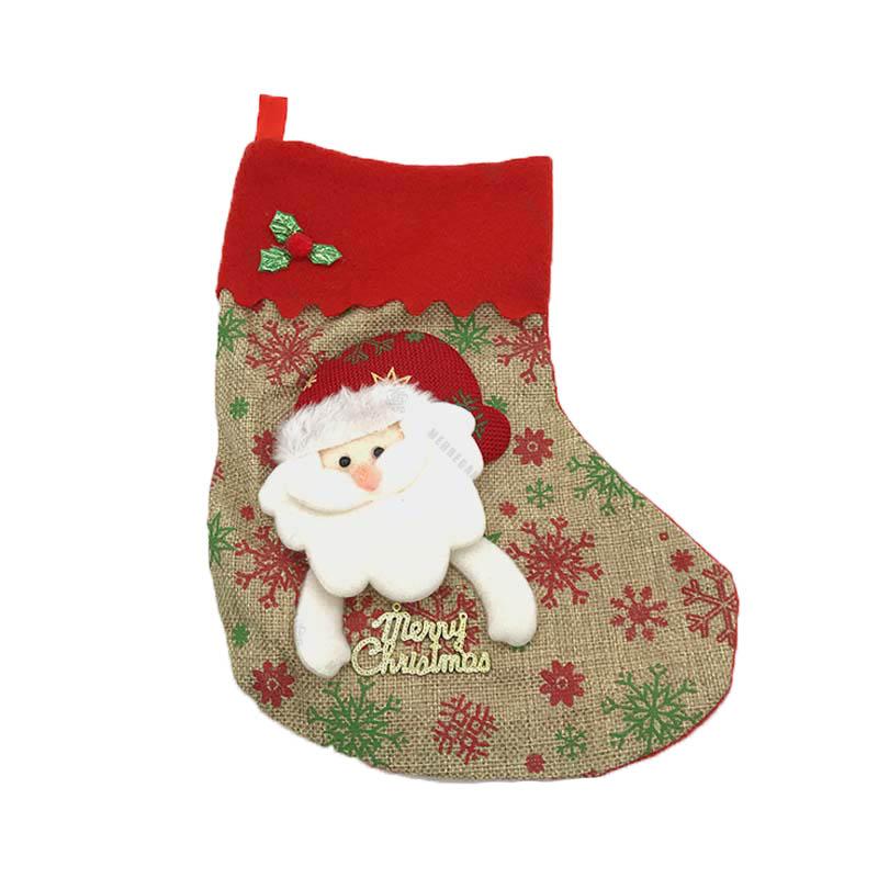 جوراب کریسمس طرح بابانوئل