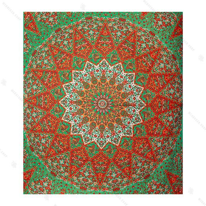 روتختی سنتی سایز بزرگ طرح گل فرش