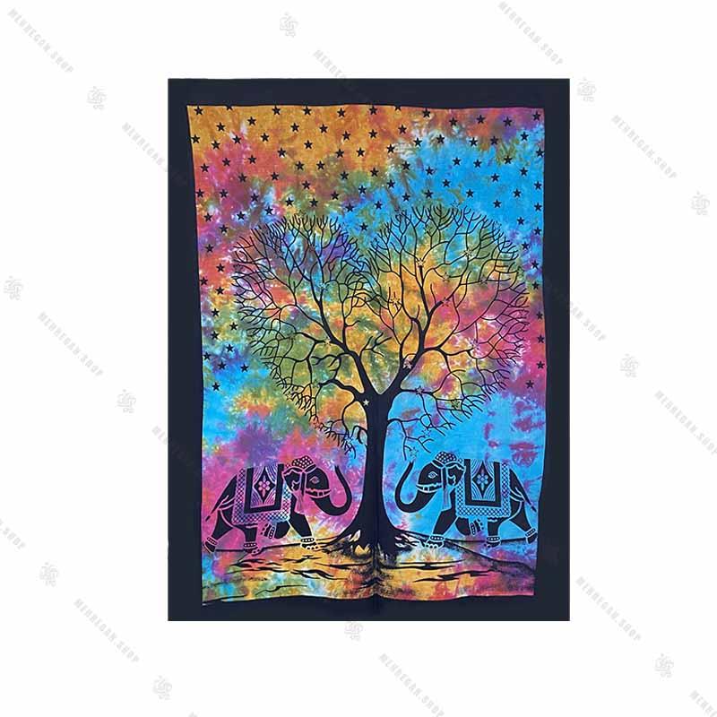 بک دراپ طرح درخت زندگانی