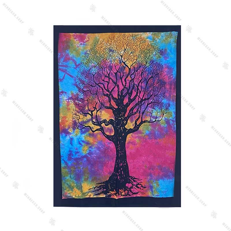 بک دراپ طرح درخت زندگانی کوچک