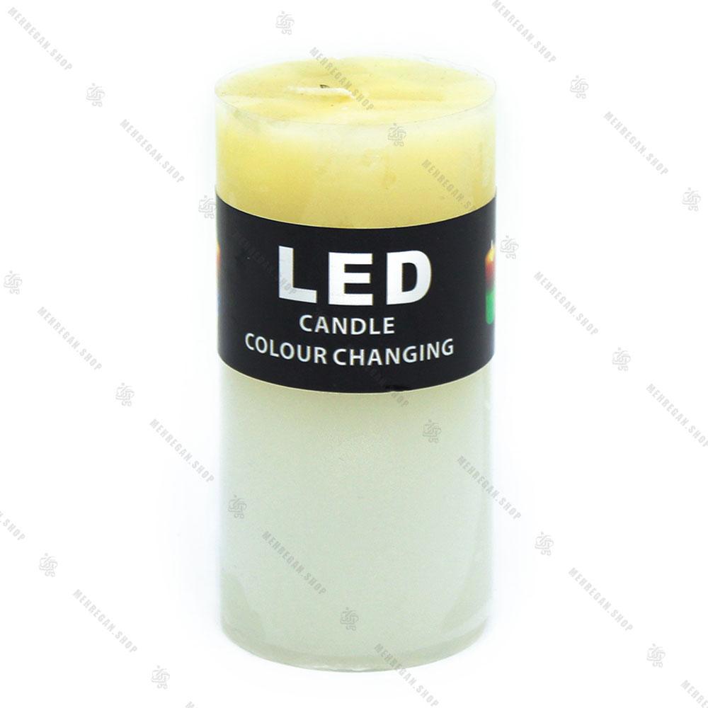 شمع ال ای دی دار سفید