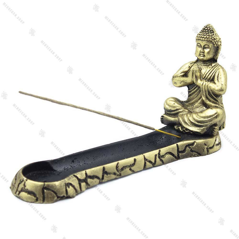 جاعودی شاخه ای کشیده بودا طلایی (کپی)