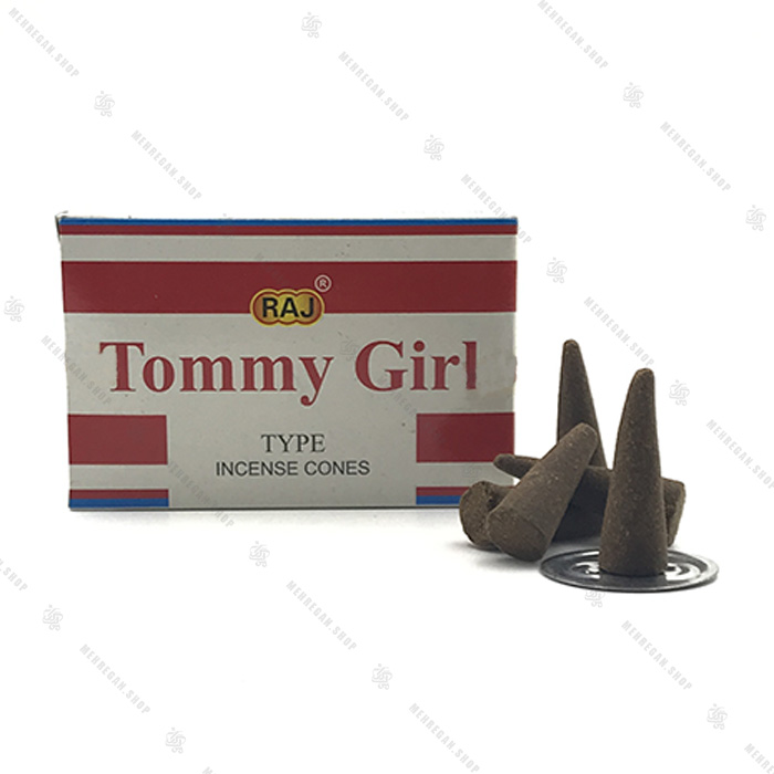 عود مخروطی راج مدل تامی Tommy girl