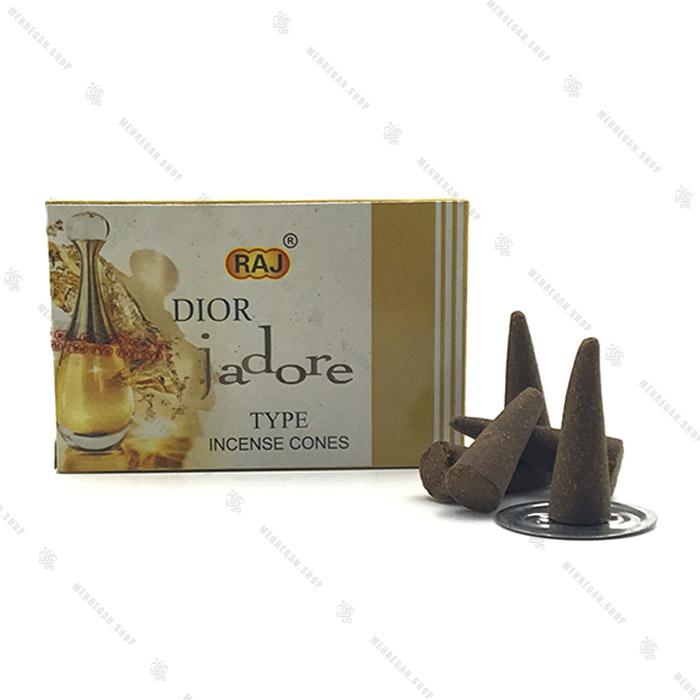 عود مخروطی راج مدل دیور  Dior Jadore