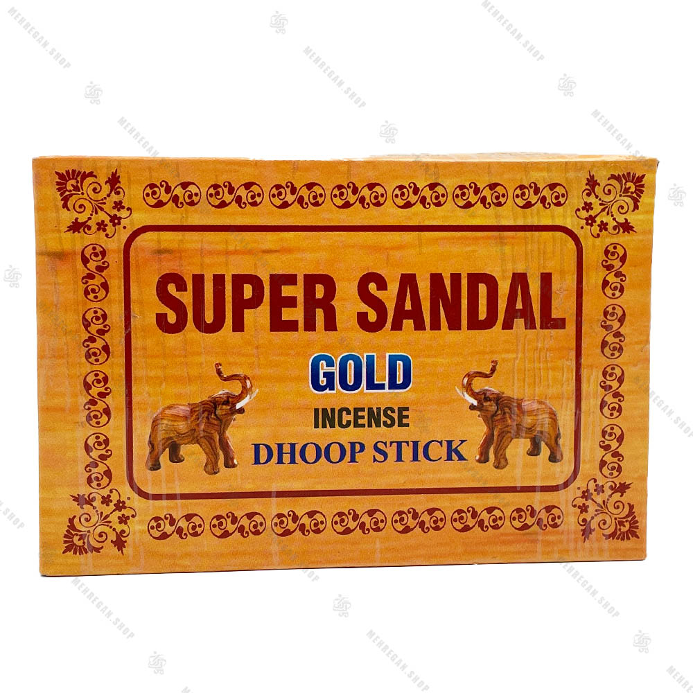 عود خمیری دست ساز Super Sandal مدل GOLD