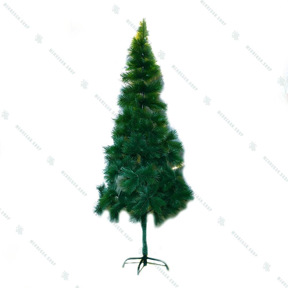 درخت کریسمس برگ سوزنی ساده