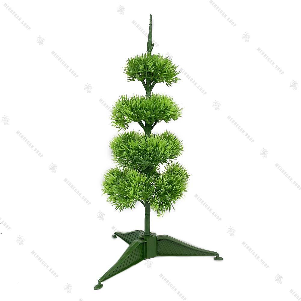 درخت کریسمس برگ سوزنی ساده 120 سانتی (کپی)