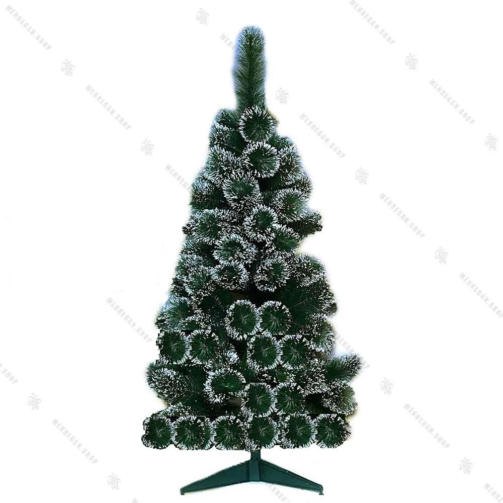 درخت کریسمس برگ سوزنی برفی 90 سانتی