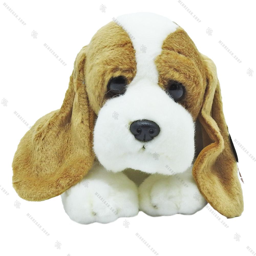 عروسک پولیشی طرح سگ نژاد دار مدل آرورا Aurora