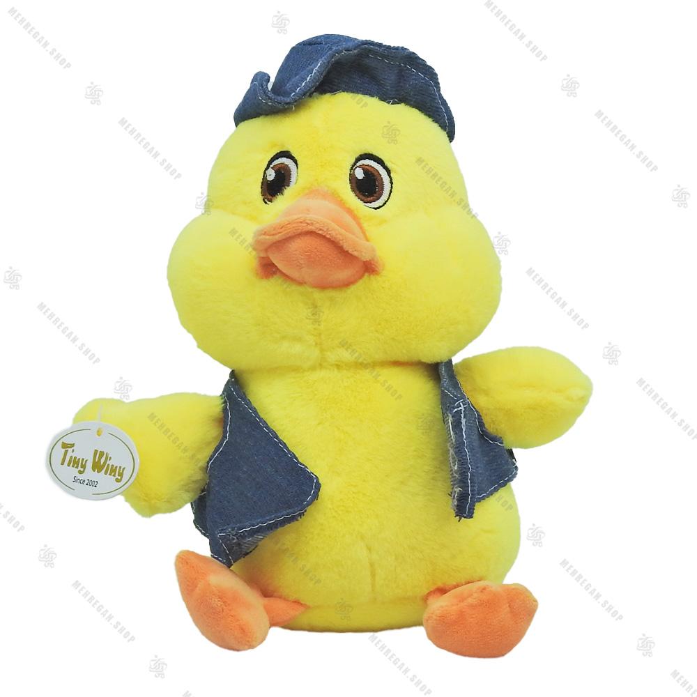 عروسک پولیشی اردک با کلاه طلایی