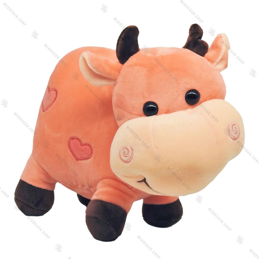 عروسک گاو پولیشی صورتی