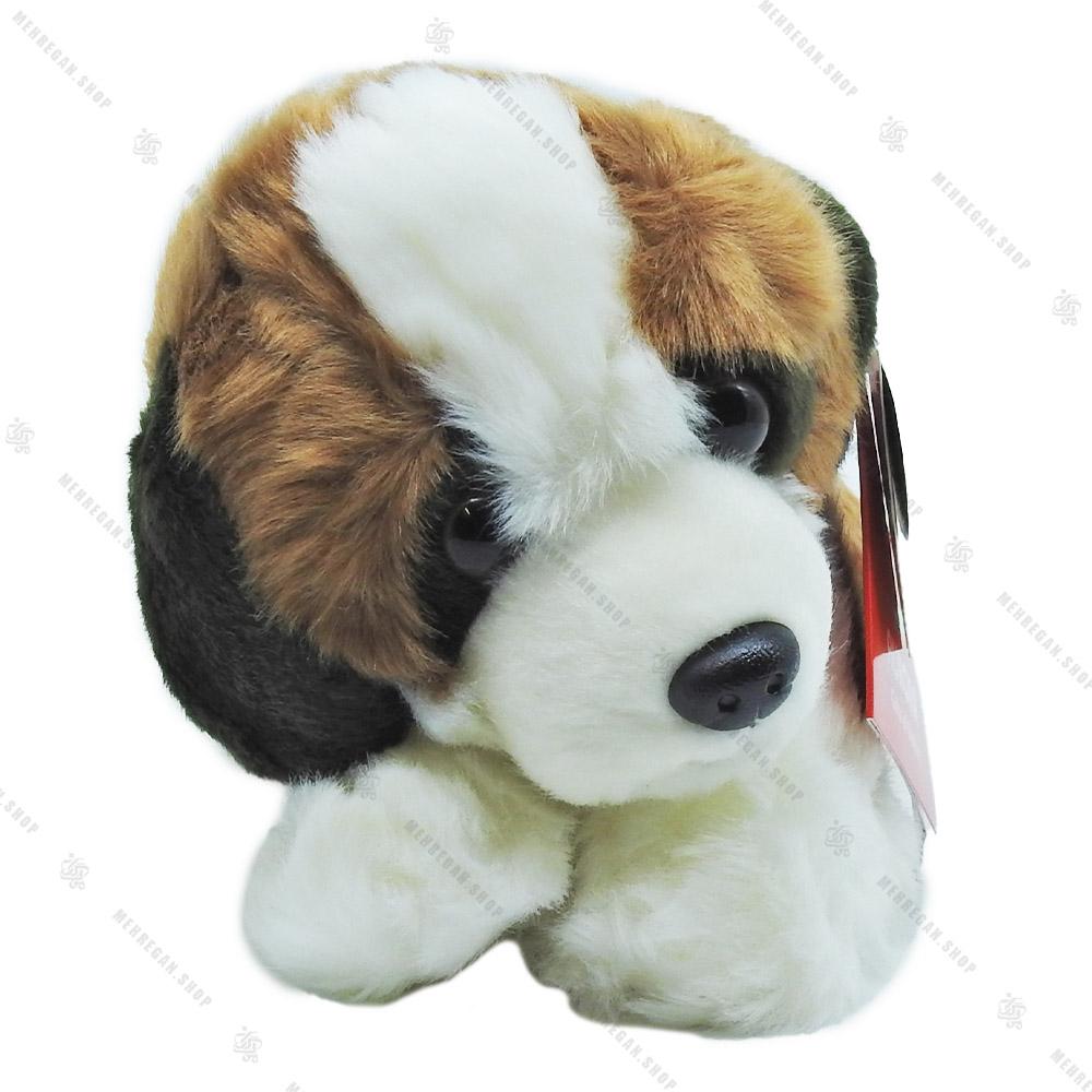 عروسک پولیشی طرح سگ نشسته مدل آرورا Aurora