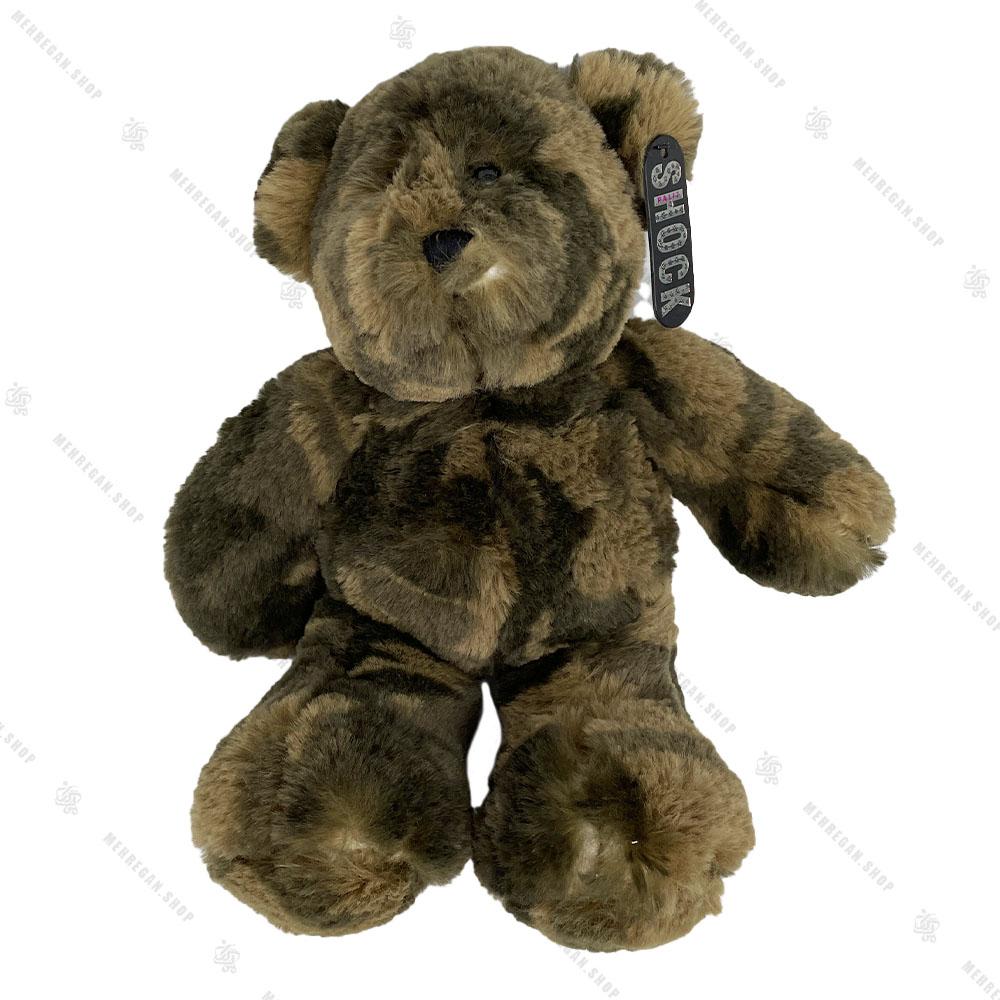 عروسک پولیشی خرس طرح چریکی
