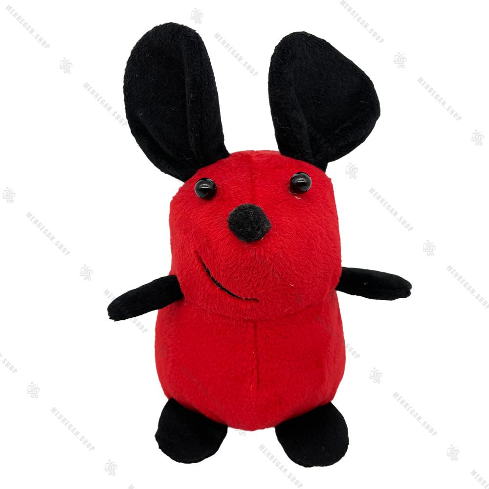 عروسک پولیشی موش ایستاده قرمز