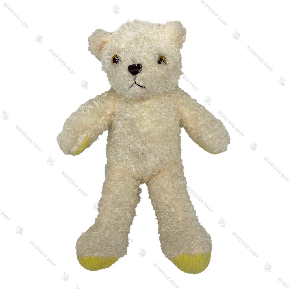عروسک خرس تدی پلیور دار 30 سانتی