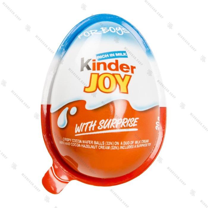 تخم مرغ شانسی کیندر جوی kinder joy