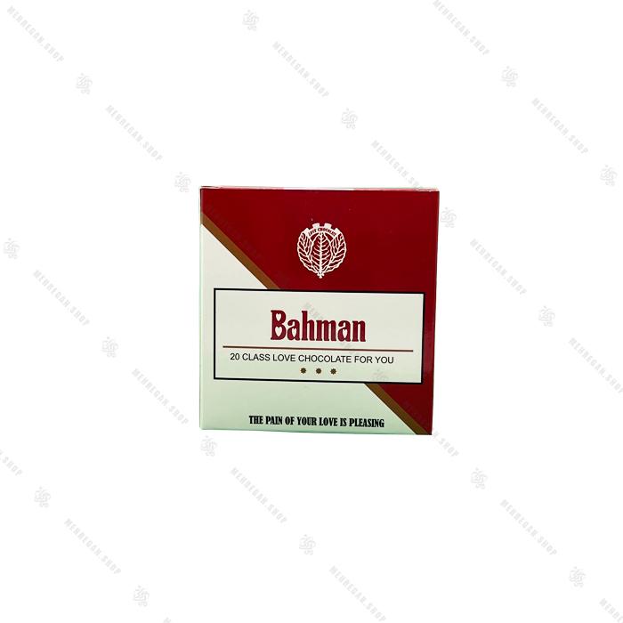 شکلات تخته ای طرح بهمن