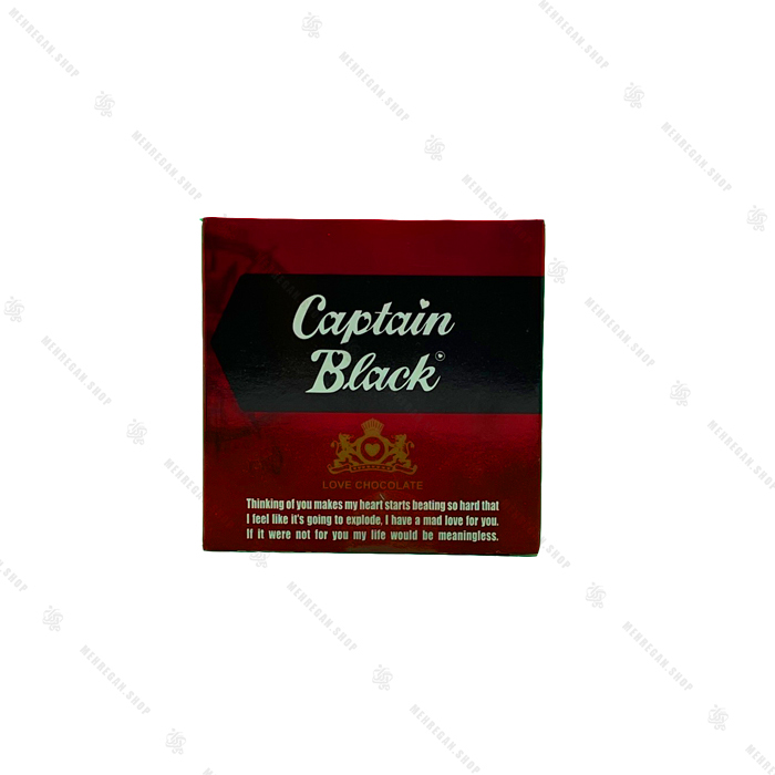 شکلات تخته ای طرح پاکت کاپتان بلک Captan Black