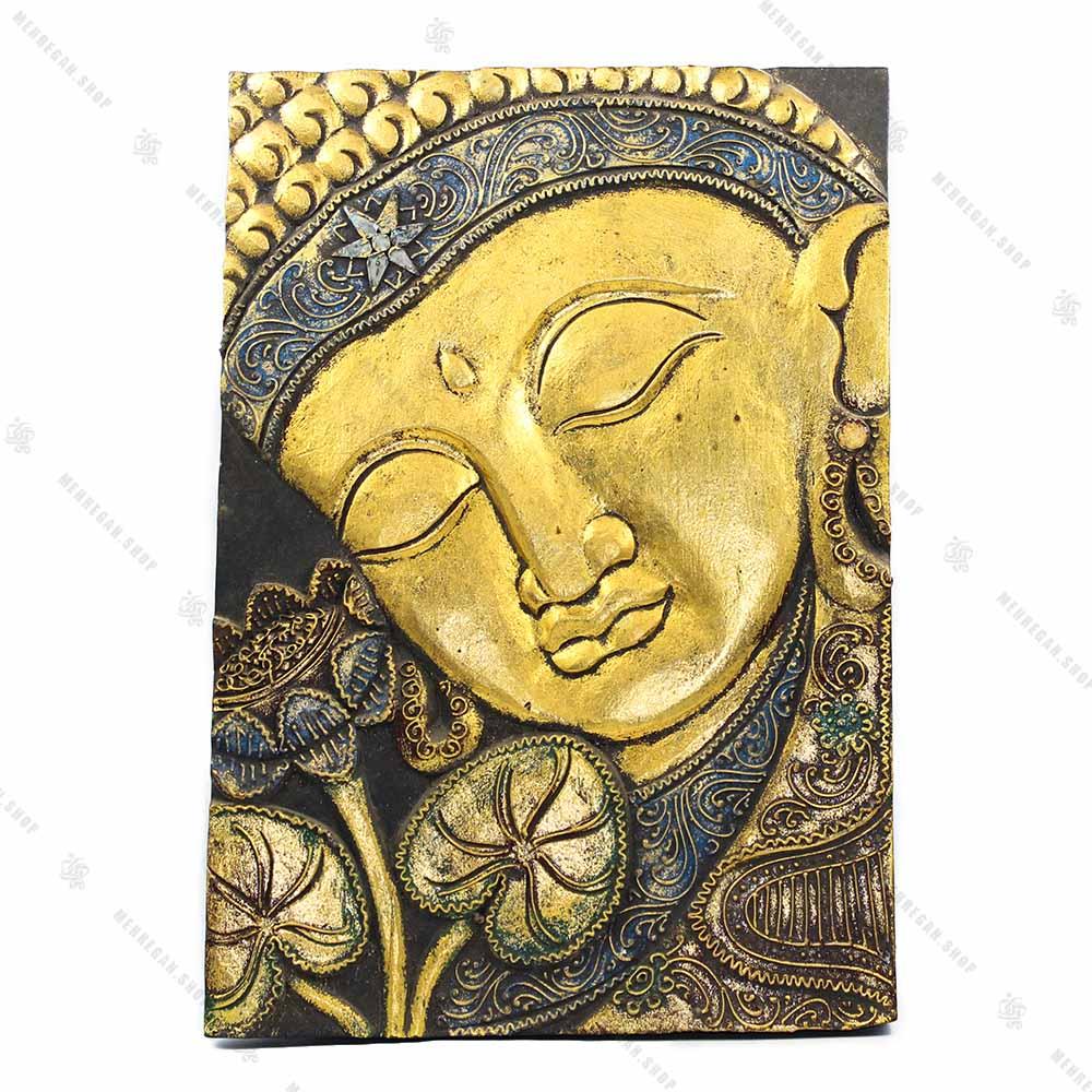 دیوارکوب کتیبه ای بودا