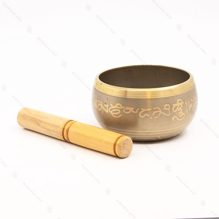 کاسه تبتی هندی برنجی