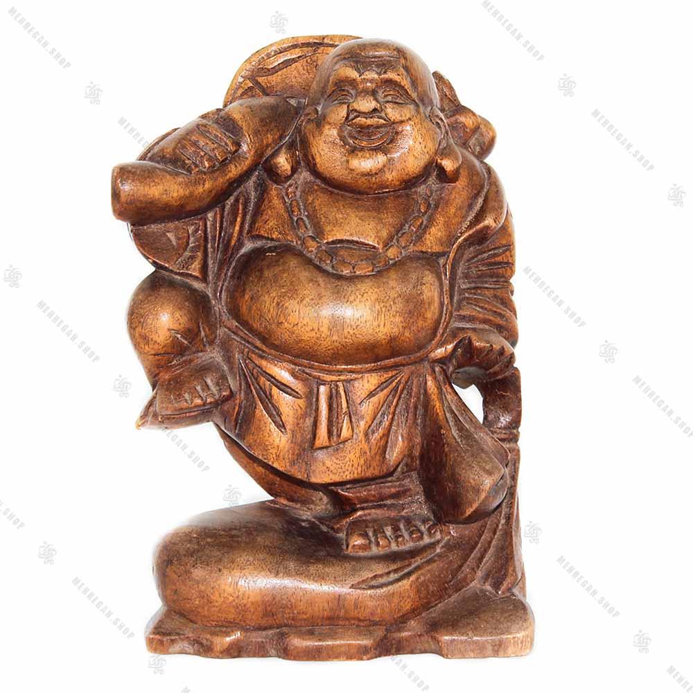 مجسمه چوبی هپی من قدرت (کپی)