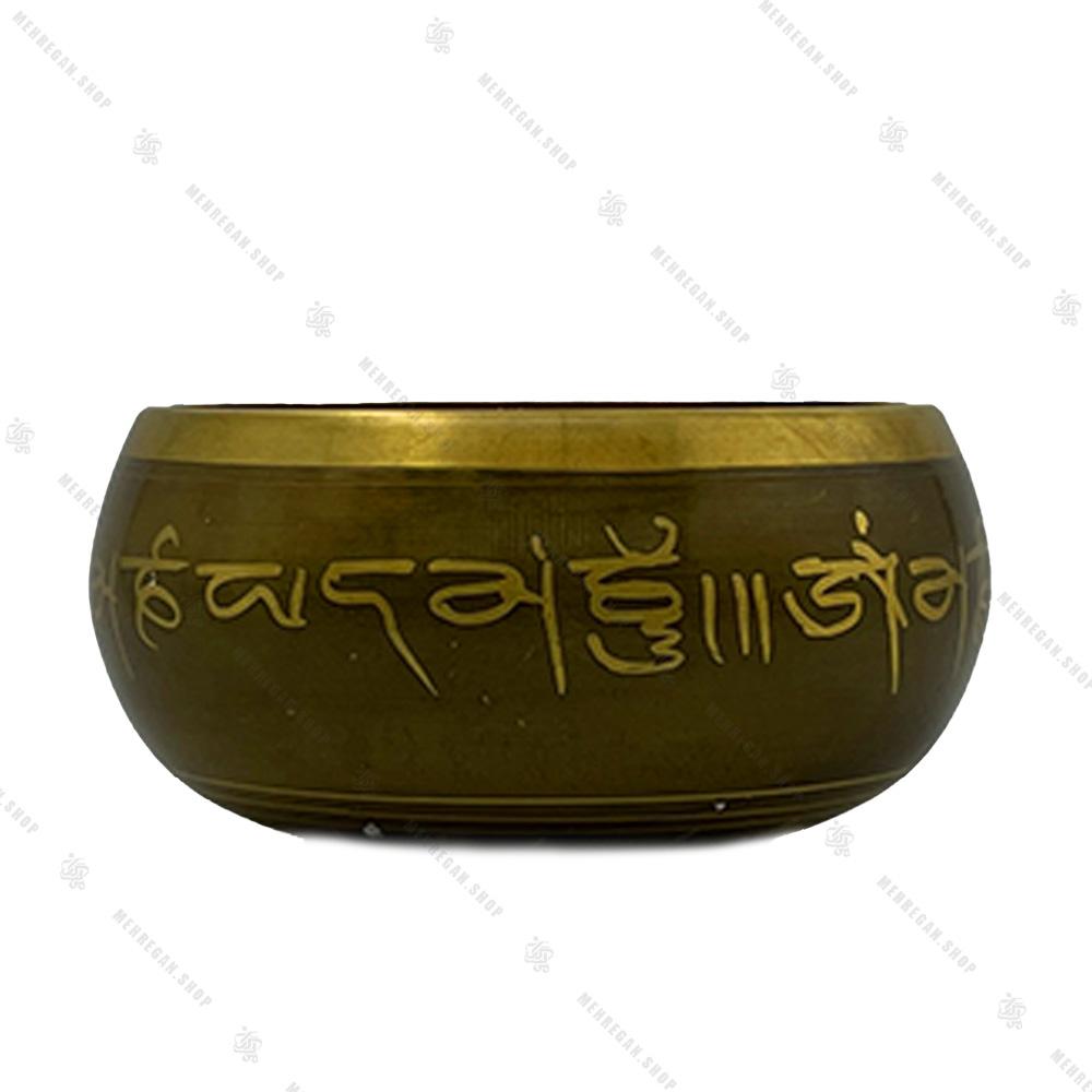 کاسه تبتی طلایی سایز 4
