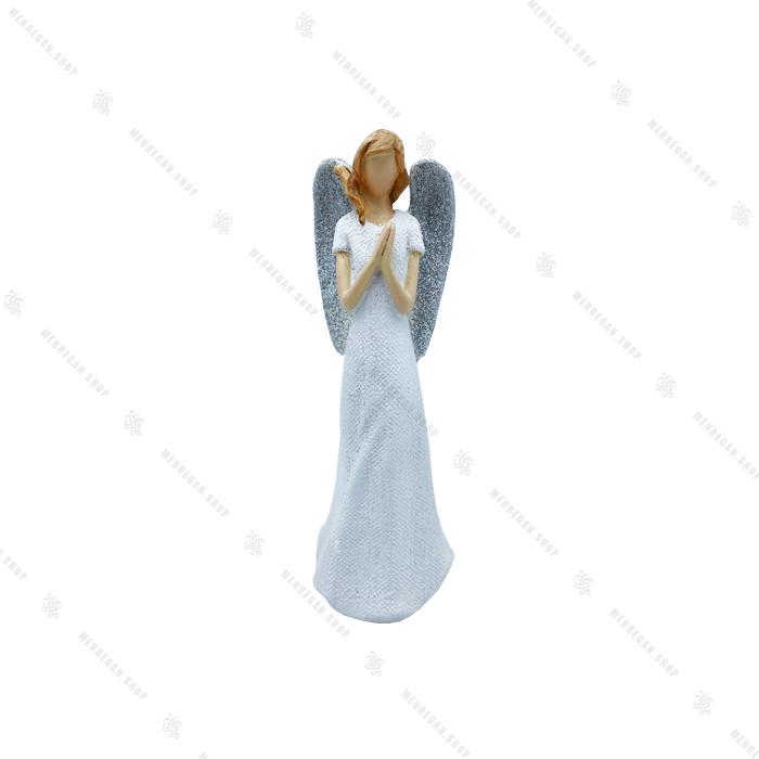 مجسمه دکوری فرشته در حالت دعا خواندن