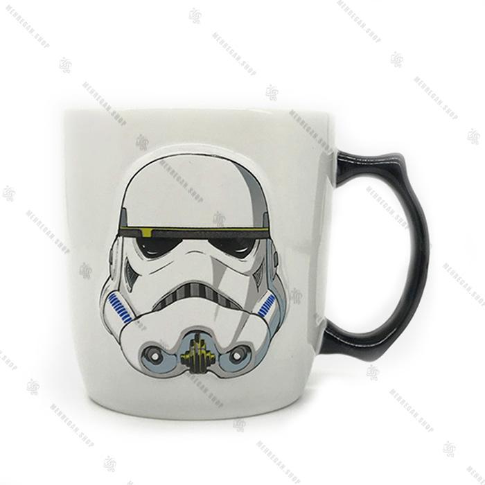 ماگ جنگ ستارگان طرح کلون Star Wars Clone Trooper