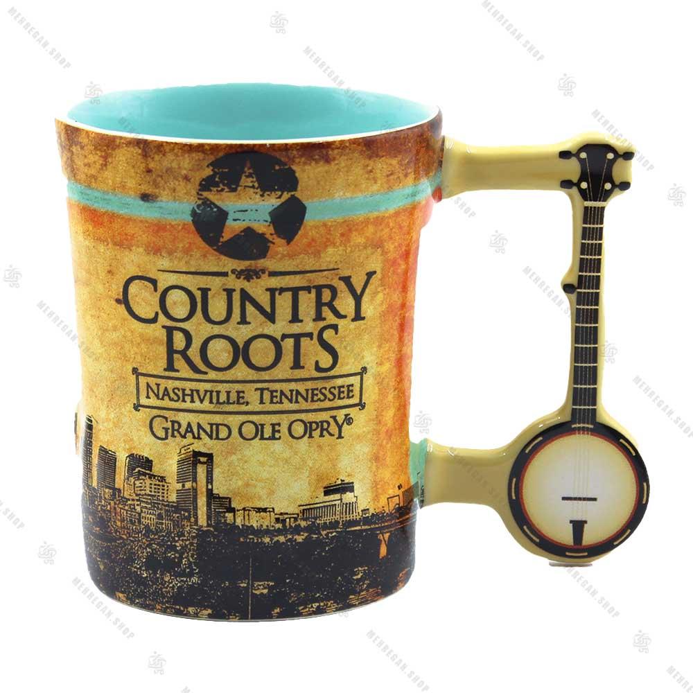 ماگ سرامیکی دسته دار Country Roots