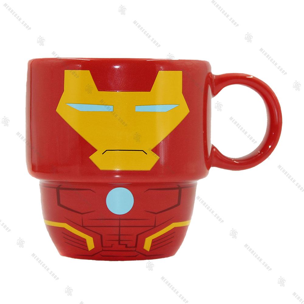 ماگ سرامیکی مدل ایرون من Iron Man