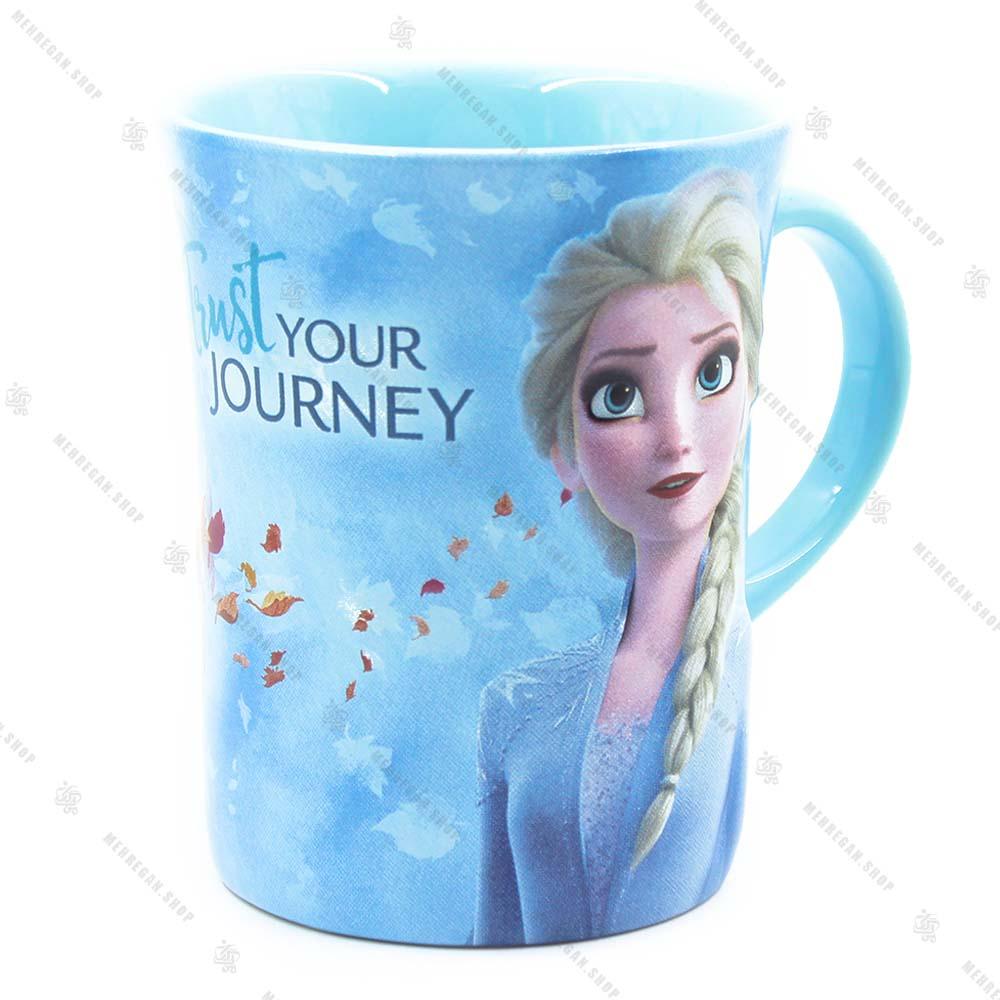 ماگ سرامیکی دسته دار دیزنی مدل السا Elsa