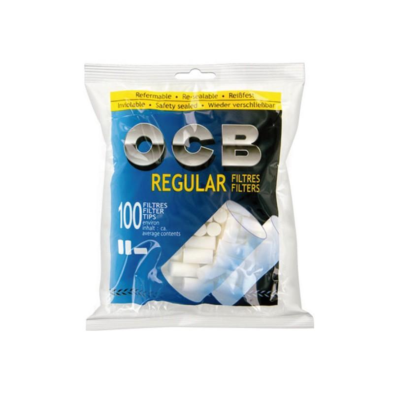 فیلتر سیگار دست پیچ 100 عددی OCB Regular