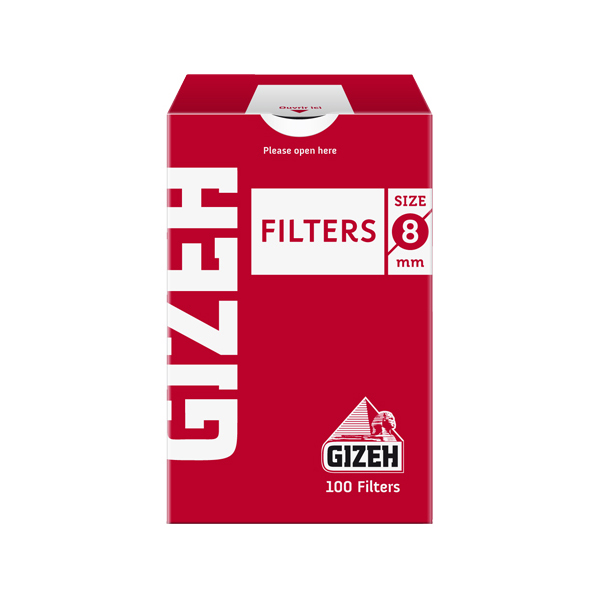 فیلتر سیگار دست پیچ 8 میلی متری گیزه Gizeh