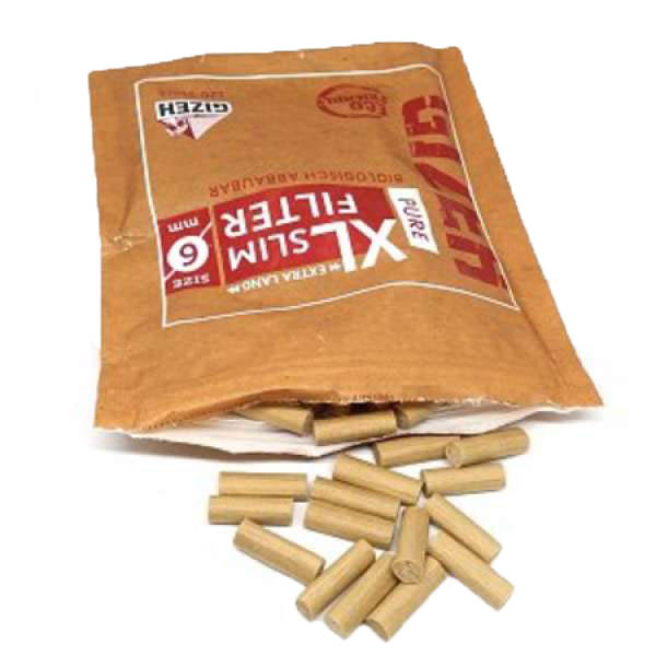 فیلتر سیگار ارگانیک اسلیم بلند گیزه Gizeh XL Slim
