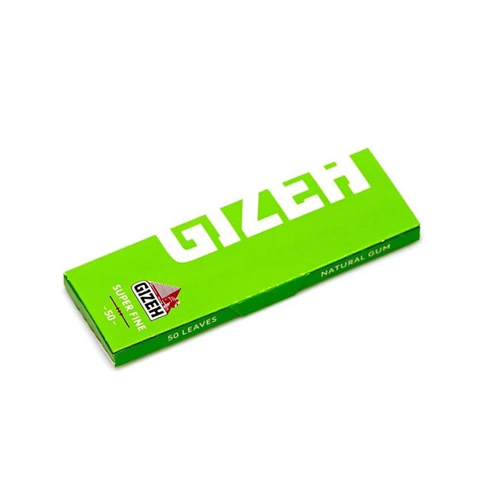 کاغذ سیگار پیچ سوپر فاین سبز گیزه Gizeh Super Fine