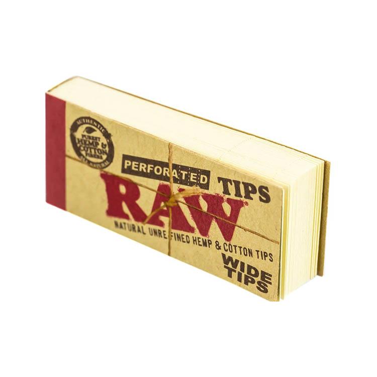 فیله سیگار دست پیچ (فیلتر تیپ) RAW Wide Tips