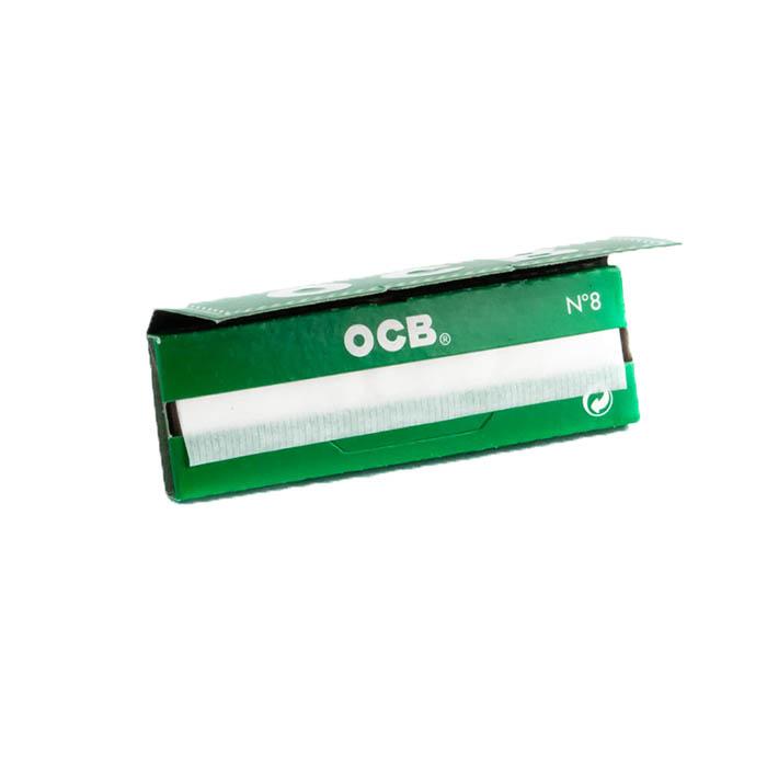 کاغذ سیگار پیچ کوتاه سبز OCB N°۸