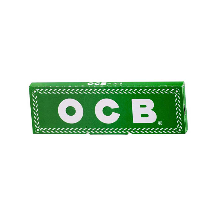 کاغذ سیگار پیچ کوتاه سبز OCB N°8