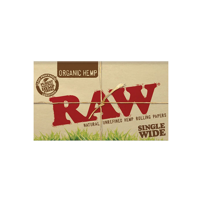 کاغذ سیگار پیچ دوبل ارگانیک RAW Organic Hemp