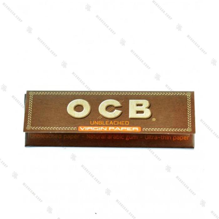 کاغذ سیگار دست پیچ OCB کوتاه قهوه ای