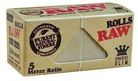 کاغذ سیگار پیچ رول 5 متری RAW مدل ارگانیک