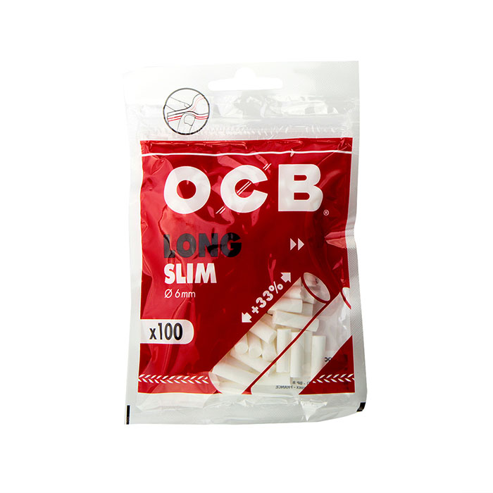 فیلتر سیگار پیچ اسلیم لانگ OCB Slim Long